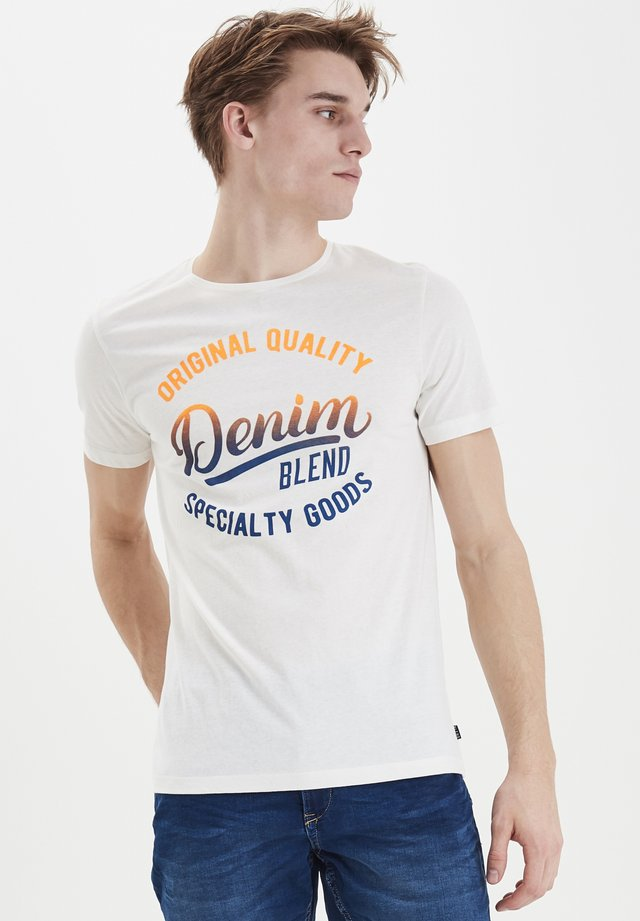 TEE REGULAR FIT - T-shirt con stampa - offwhite