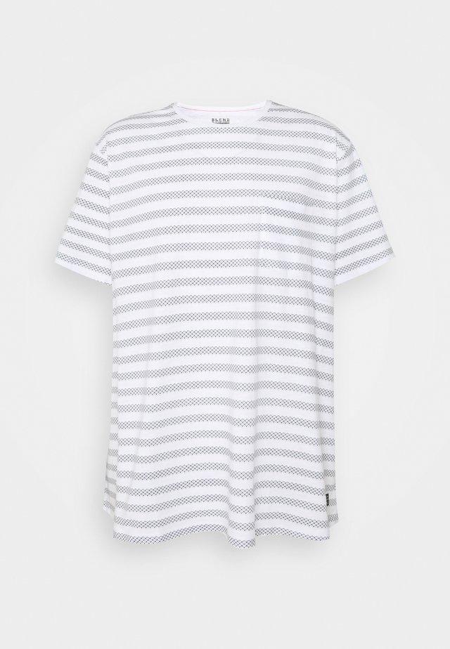 Print T-shirt - dark navy blue