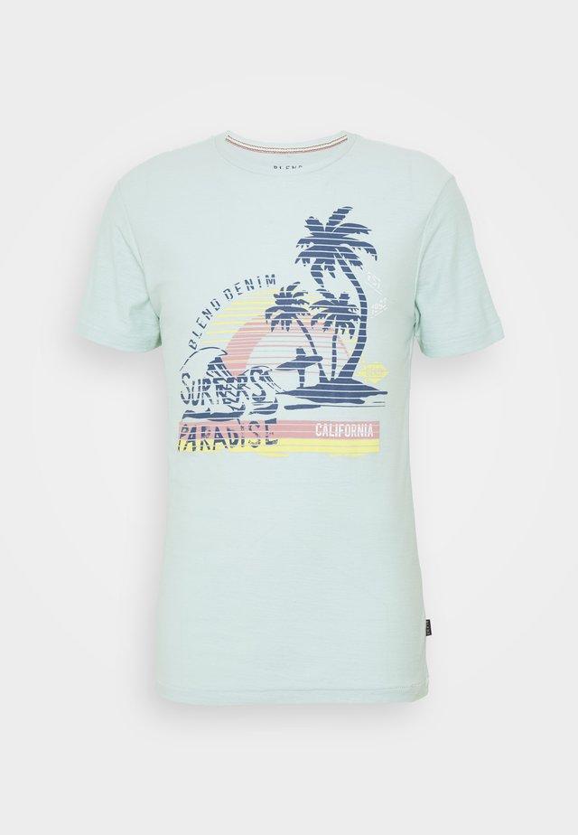 T-Shirt print - starlight blue