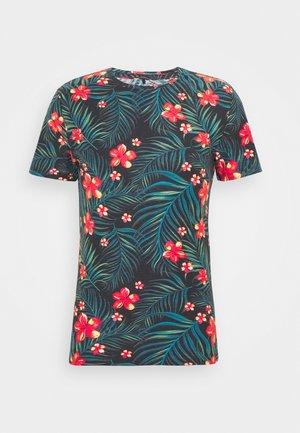 T-shirt z nadrukiem - dark navy blue