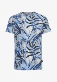 Blend - Print T-shirt - chip grey - 5