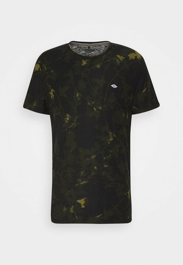 TEE - Print T-shirt - dark navy