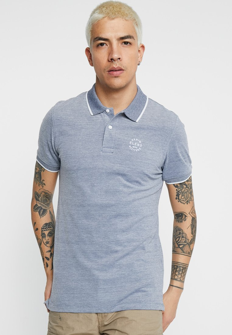 Blend - Polo - denim blue