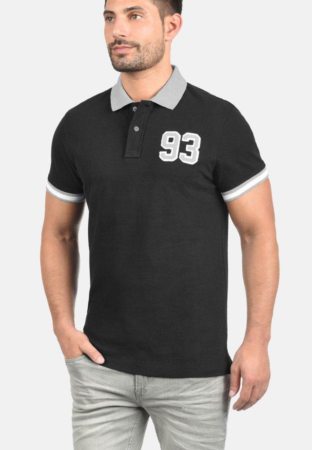 GREGOR - Polo shirt - black