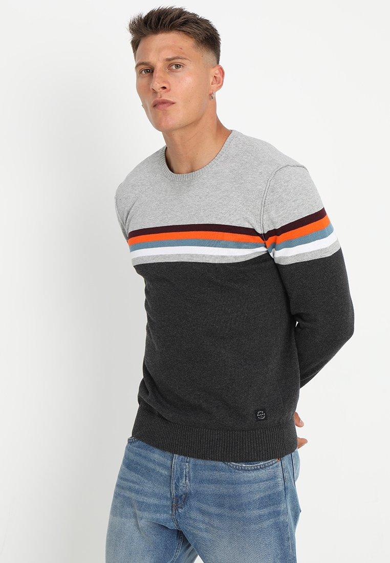 Blend - Stickad tröja - charcoal