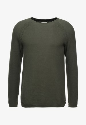 Pullover - beetle green