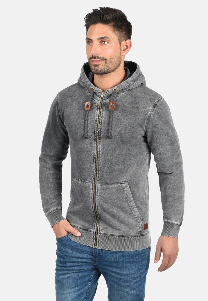 Blend - ITASCHI - Sweatjacke - ebony gray