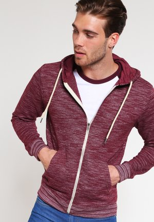 REGULAR FIT - Zip-up hoodie - zinfandel