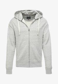 Blend - Zip-up hoodie - stone mix - 4