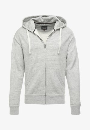 veste en sweat zippée - stone mix