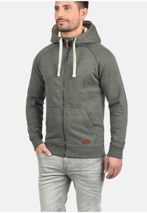 SPEEDY - Zip-up hoodie - dark grey