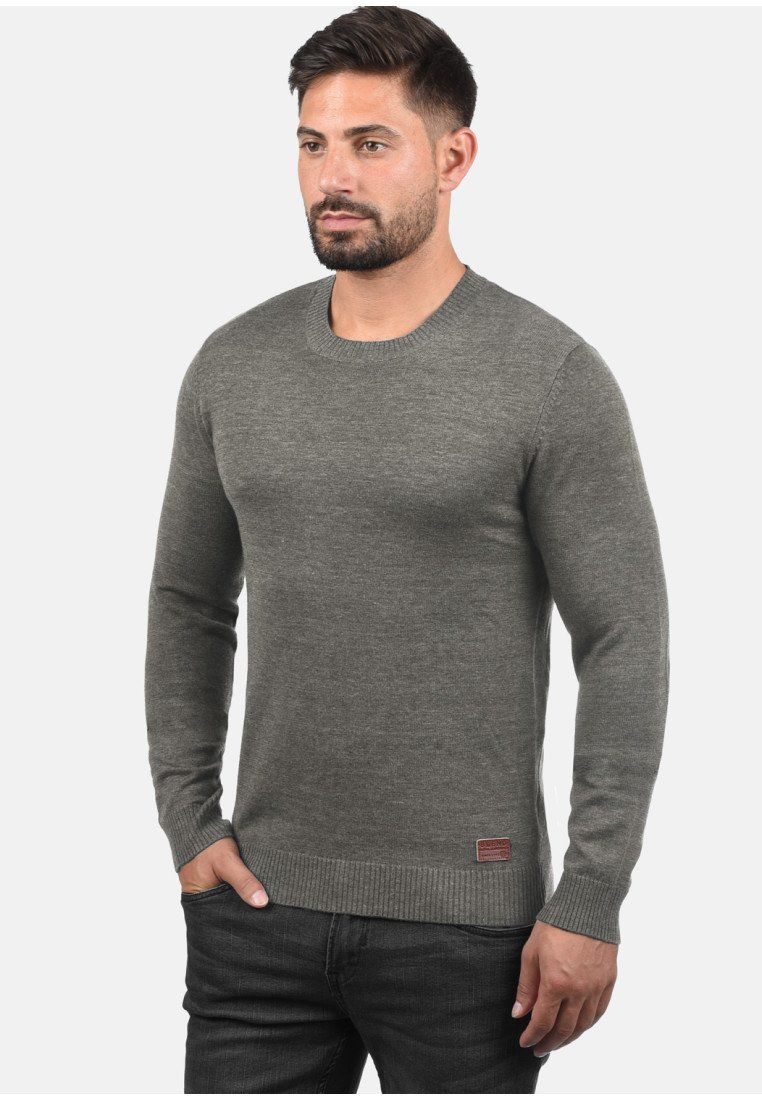 Blend - Strickpullover - light grey