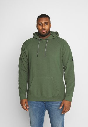 Hoodie - forest green