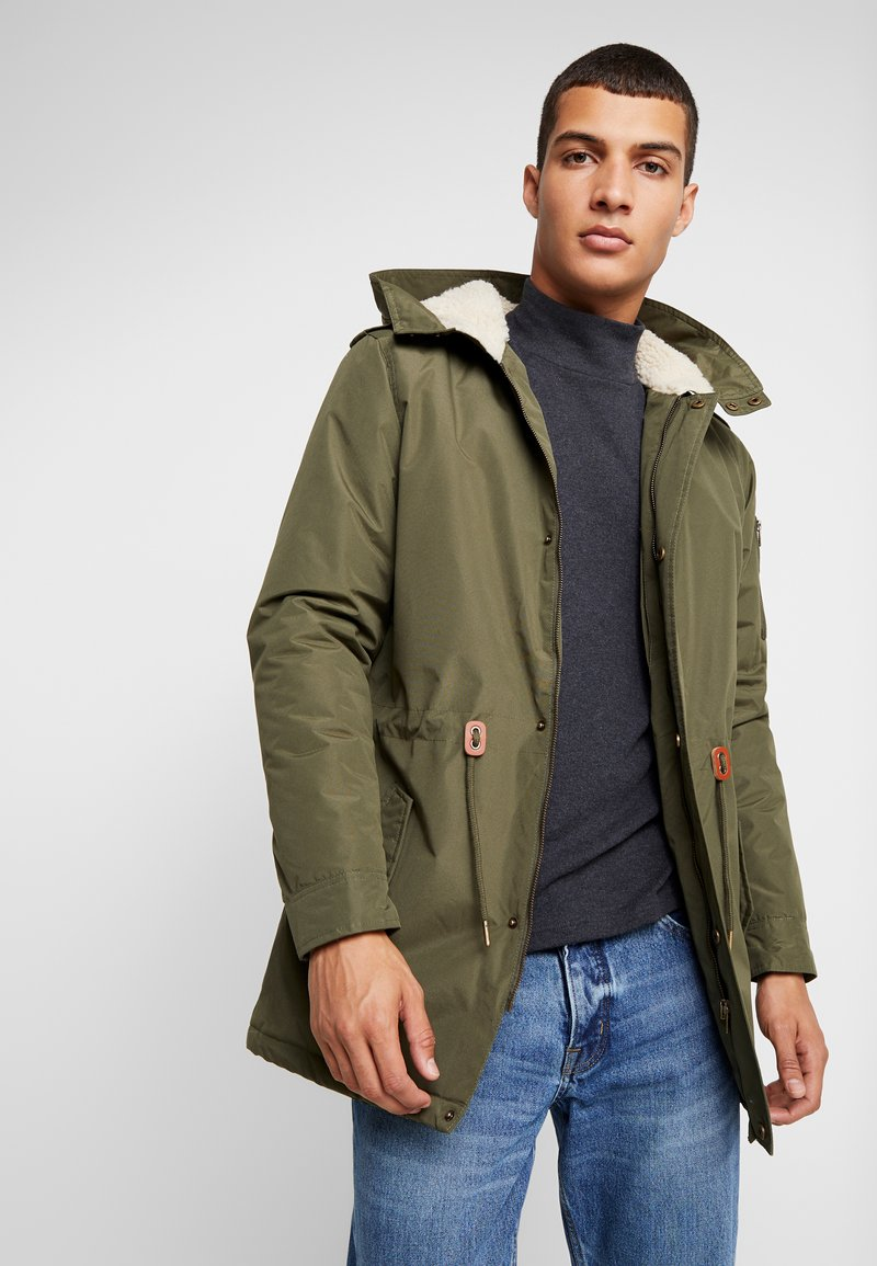 Blend - OUTERWEAR - Parka - olive night green