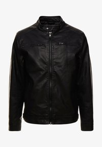 Blend - OUTERWEAR - Veste en similicuir - black - 3