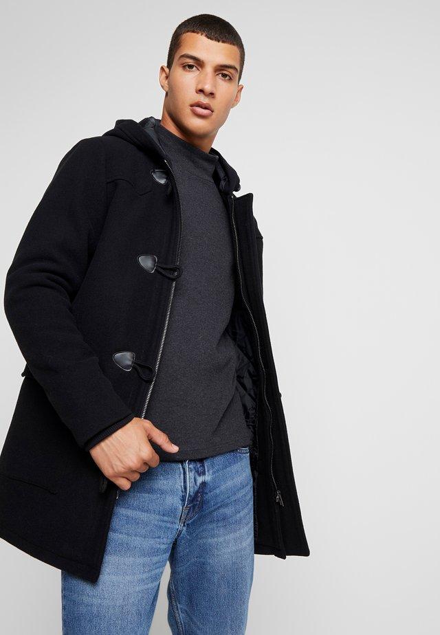 OUTERWEAR - Classic coat - black