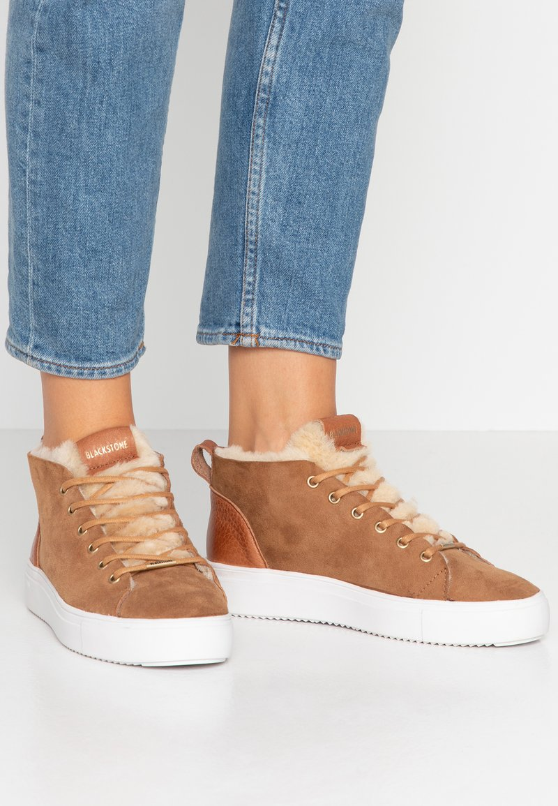 Blackstone - Sneaker high - rust