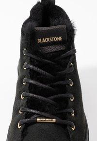 Blackstone - Høye joggesko - nero - 2
