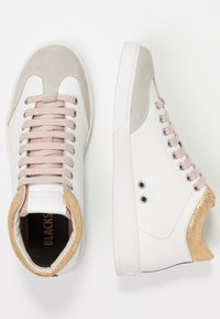 Blackstone - High-top trainers - white/rose - 3