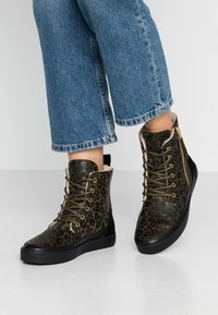 Blackstone - Lace-up ankle boots - winter moss - 0