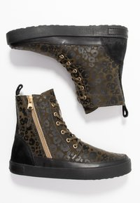 Blackstone - Lace-up ankle boots - winter moss - 3