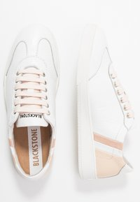 Blackstone - Trainers - white/wheat/rose - 3