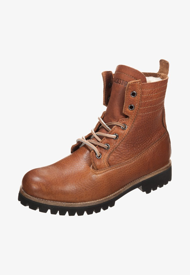 Blackstone - Lace-up ankle boots - brown