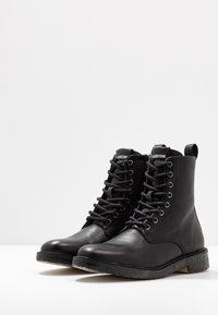 Blackstone - Lace-up ankle boots - black - 4