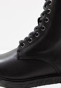 Blackstone - Lace-up ankle boots - black - 2