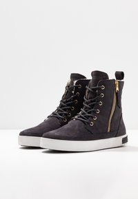 Blackstone - Lace-up ankle boots - nine iron - 4