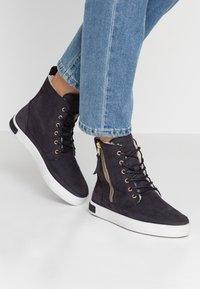Blackstone - Lace-up ankle boots - nine iron - 0