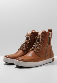 Blackstone - Lace-up ankle boots - cuoio - 3