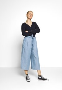 Blue Seven - CULOTTE - Trousers - blue denim - 1