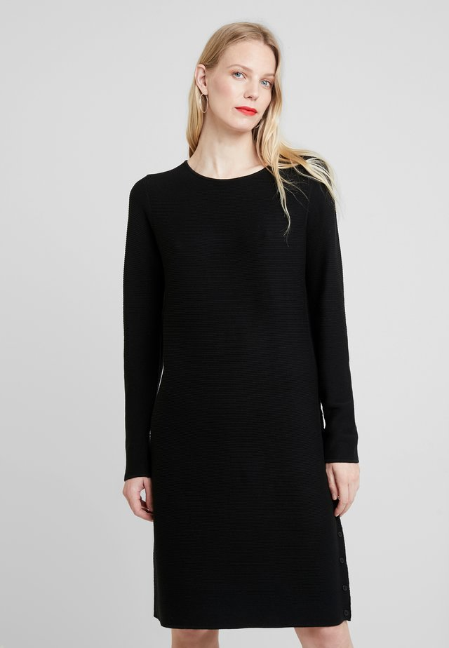 RUNDHALS - Jumper dress - schwarz