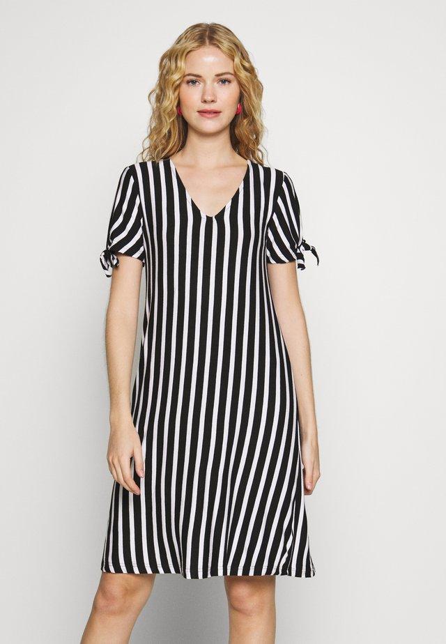 Jerseykleid - schwarz