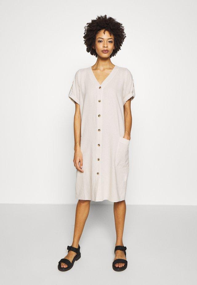 Shirt dress - kiesel original