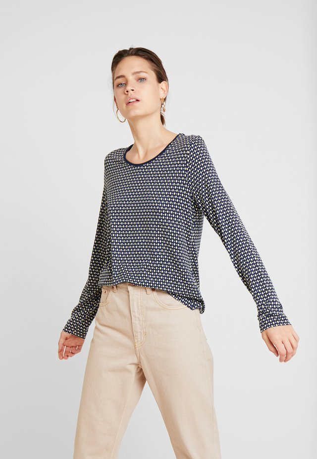 Long sleeved top - nachtblau