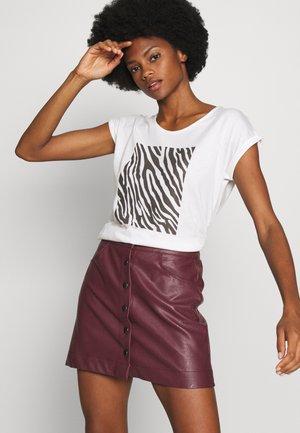 T-shirt print - offwhite orig