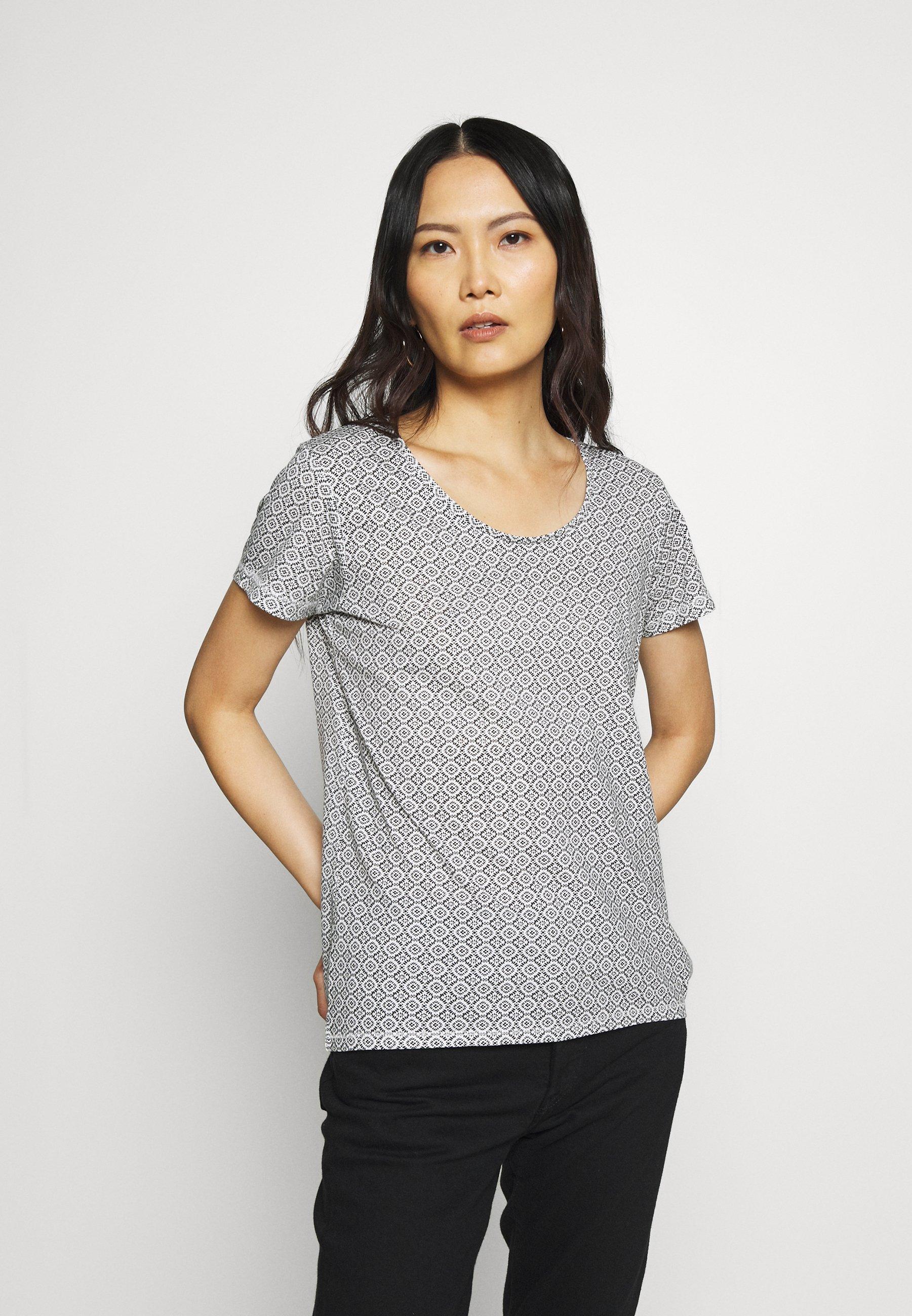 Blue Seven RUNDHALS - T-shirts med print - weiss original