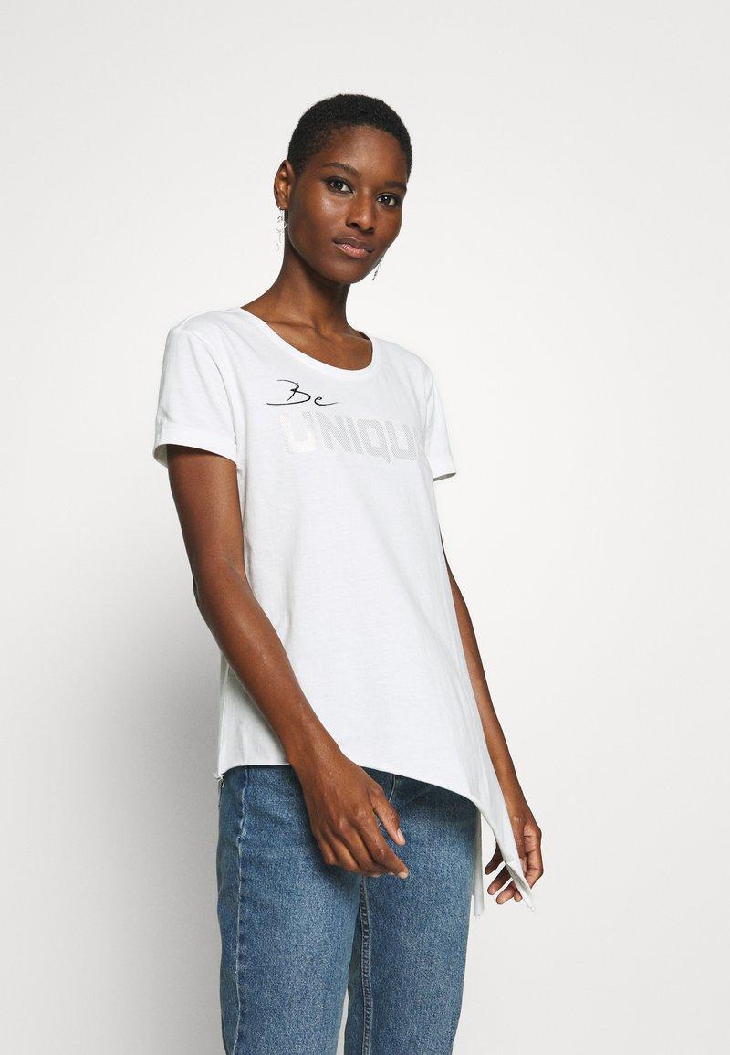 Blue Seven - Print T-shirt - offwhite