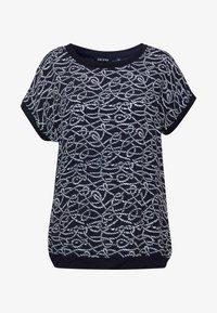 Blue Seven - Print T-shirt - nachtblau - 3