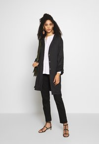 Blue Seven - Trench - anthrazit - 1