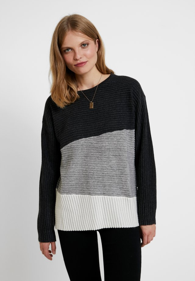 OVERSIZED - Jumper - anthrazit
