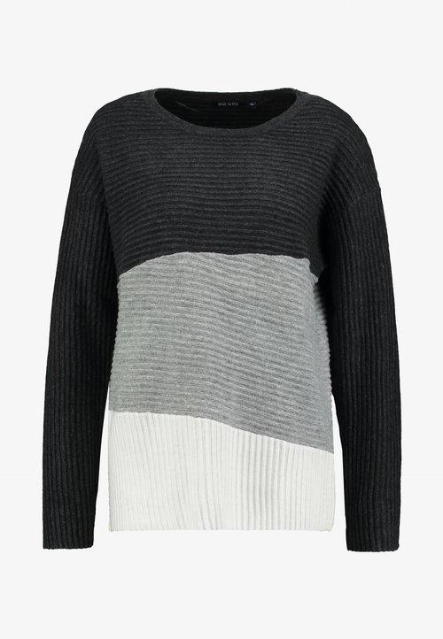 Blue Seven OVERSIZED - Sweter - anthrazit Odzież Damska RKSO-RM3 wylot