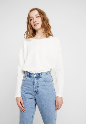 RUNDHALS - Long sleeved top - offwhite