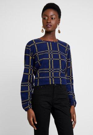 RUNDHALS - Fleece jumper - nachtblau