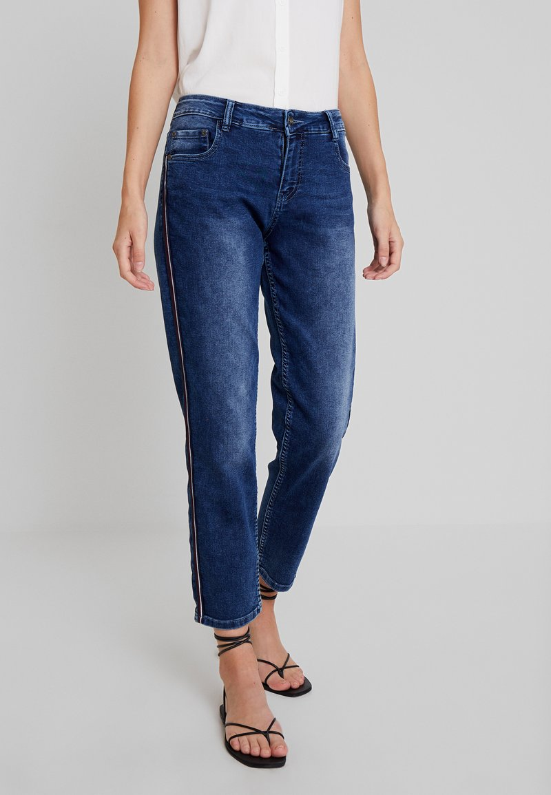 Blue Seven - DA BOYFRIEND - Straight leg jeans - dark blue