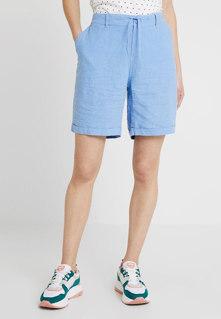 Blue Seven - BERMUDA - Shorts - mittelblau