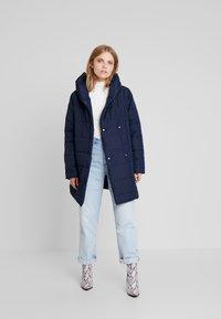 Blue Seven - Short coat - nachtblau - 1