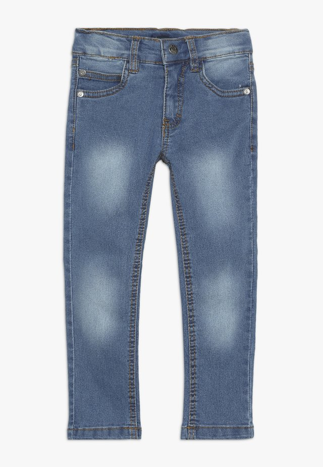 Jeans slim fit - jeansblau